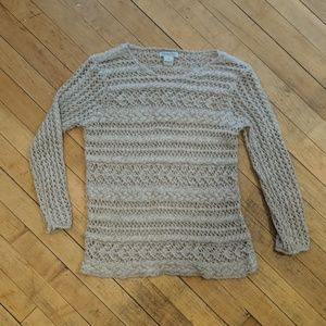 lucky brand knit sweater top